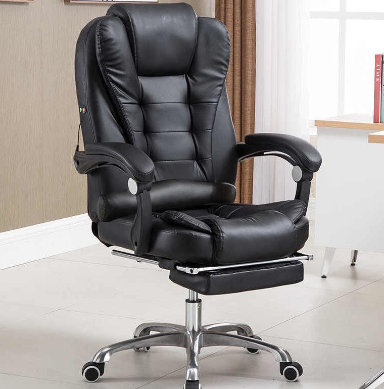 Офисное кресло из кожи