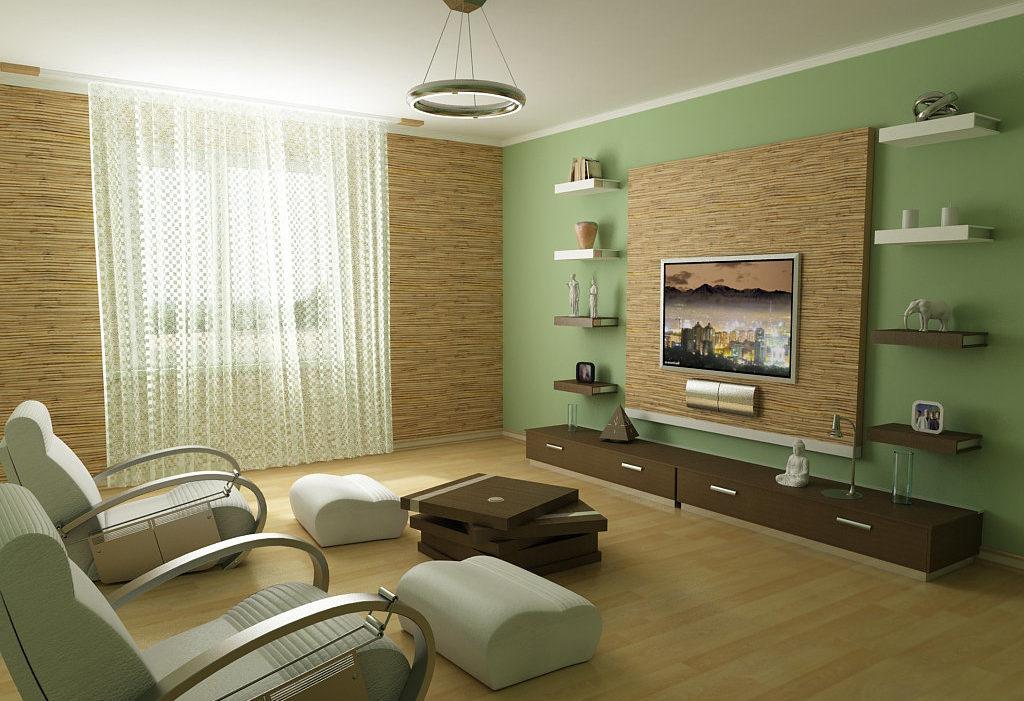 Меблируем гостиную комнату