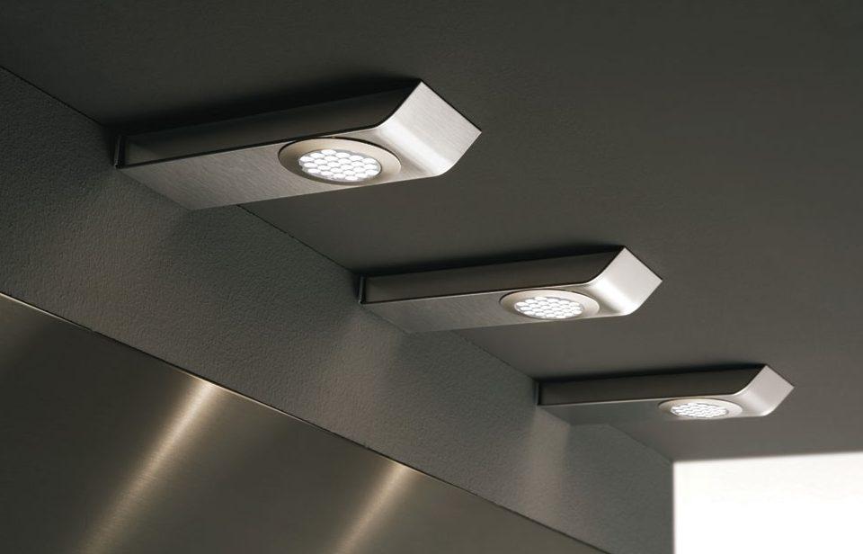 Встраиваемые мебельные светильники